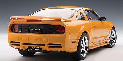phillymint autoart 2007 saleen extreme mustang s281. Black Bedroom Furniture Sets. Home Design Ideas