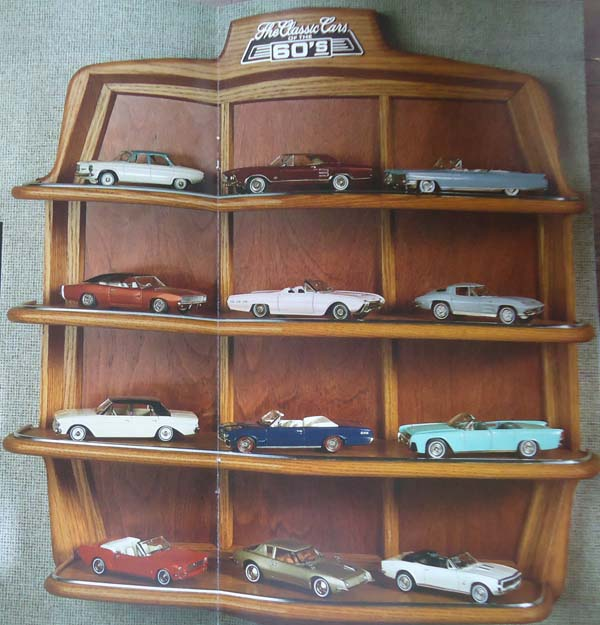 The Franklin Mint Cars Of The 60s 1 43rd Scale